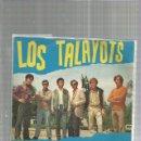 Discos de vinilo: TALAYOTS BURRITO ROJO. Lote 163335626