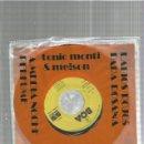 Discos de vinilo: TONIO MONTI LABIOS ROJOS. Lote 163335986