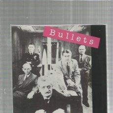 Discos de vinilo: BULLETS SI ALGUNA VEZ. Lote 163341006
