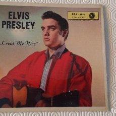 Discos de vinilo: EP DEL CANTANTE NORTEAMERICANO DE ROCK AND ROLL ELVIS PRESLEY - EDICION ALEMANA -. Lote 163363906