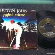 Discos de vinilo: SINGLE. ELTON JOHN. PINBALL WIZARD - SORRY SEEMS TO BE THE HARDEST WORD. 1978. Lote 163387906