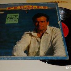 Discos de vinilo: PERALES AMÉRICA LP 1991-ENCARTE CON CANCIONES. Lote 163389822