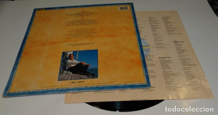 Discos de vinilo: PERALES AMÉRICA LP 1991-ENCARTE CON CANCIONES - Foto 2 - 163389822