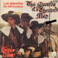 Disques de vinyle: TENPOLE TUDOR / LAS ESPADAS DE MIL HOMBRES / AMOR Y COMIDA (SINGLE PROMO 1981). Lote 163396534
