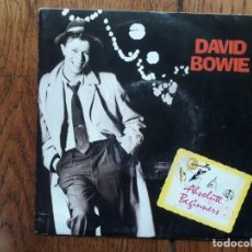 Discos de vinilo: DAVID BOWIE - ABSOLUTE BEGINNERS + ABSOLUTE BEGINNERS ( DUB MIX ) . Lote 163398482