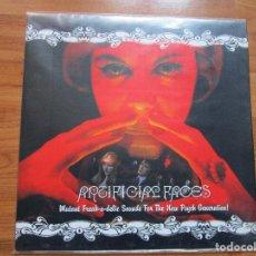 Discos de vinilo: LP ANTIFACE FACES - SONIA AQUI EN MI NUBE - CAMILO SESTO TO BE MAN - VER INTERPRETES Y CANCIONES. Lote 163402394