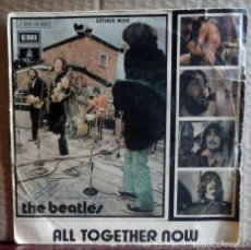 Discos de vinilo: THE BEATLES - ALL TOGETHER NOW / HEY BULLDOG - VINILO EXCELENTE. Lote 163405466