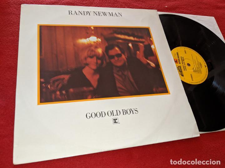 RANDY NEWMAN GOOD OLD BOYS LP 1974 REPRISE RECORD GERMANY ALEMANIA (Música - Discos - LP Vinilo - Pop - Rock - Extranjero de los 70)