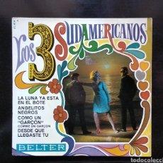 Discos de vinilo: LOS 3 SUDAMERICANOS. Lote 163408952