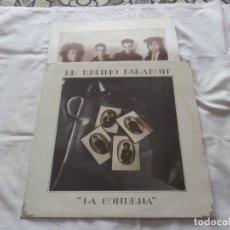 Discos de vinilo: EL ULTIMO ESLABON (ANA CURRA) LP LA CODENA (1987) EDITA JUSTINE ** VINILO COMO NUEVO **. Lote 163411246