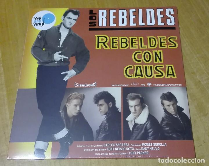 LOS REBELDES - REBELDES CON CAUSA (LP 2017, WE ARE VINYL 889854159412) PRECINTADO (Música - Discos - LP Vinilo - Grupos Españoles de los 70 y 80)