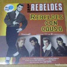 Discos de vinilo: LOS REBELDES - REBELDES CON CAUSA (LP 2017, WE ARE VINYL 889854159412) PRECINTADO. Lote 163412026