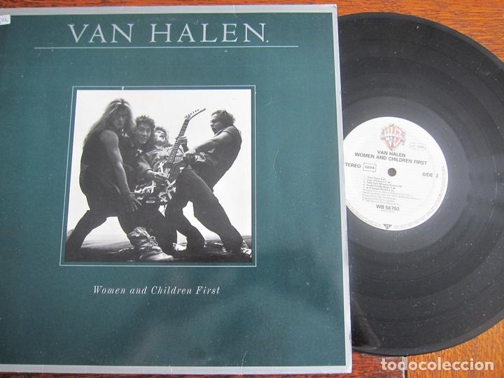 VAN HALEN `WOMEN AND CHILDREN FIRST`´ (Música - Discos - LP Vinilo - Heavy - Metal)