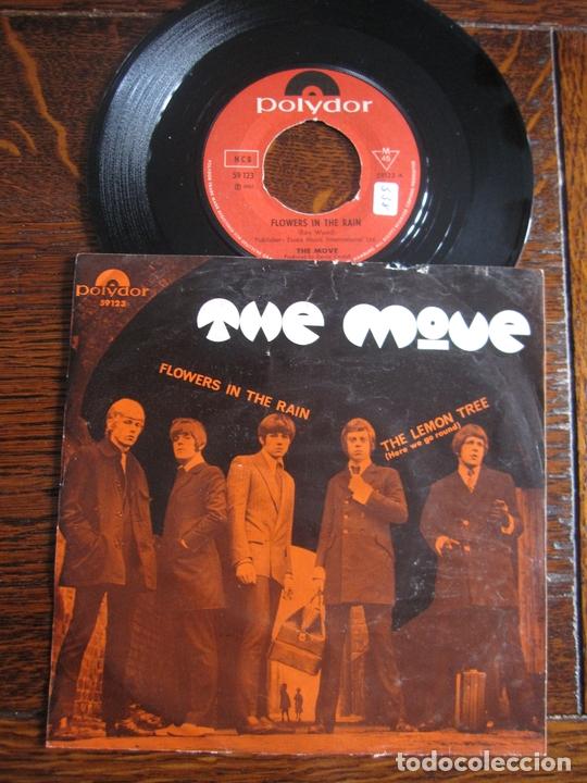 THE MOVE `FLOWERS IN THE RAIN` 1967 GARAGE-ROCK (Música - Discos - Singles Vinilo - Pop - Rock Extranjero de los 50 y 60)