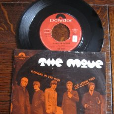 Discos de vinilo: THE MOVE `FLOWERS IN THE RAIN` 1967 GARAGE-ROCK. Lote 172372805