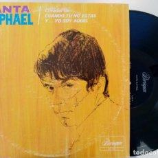 Discos de vinilo: RAPHAEL - CANTA RAPHAEL - LP USA - BORINQUEN. Lote 222516362