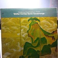 Discos de vinilo: DOBLE LP WALTER CARLOS : SONIC SEASONIGS ( TRANS LECTRONIC MUSIC ). Lote 163413502