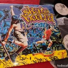 Discos de vinilo: SKATEBOARD 2LP 1990 BLANCO Y NEGRO GATEFOLD SPAIN ESPAÑA RECOPILATORIO DANCE LENNON+MCCARTNEY+ETC. Lote 163414054