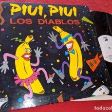 Discos de vinilo: LOS DIABLOS PIUI,PIUI (DISPUTA DE PODER)/UN RAYO DE SOL (RADIO VERSION)12''MX 1990 OPEN SPAIN ESPAÑA. Lote 163415714
