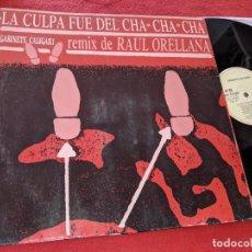 Discos de vinilo: GABINETE CALIGARI LA CULPA FUE DEL CHA CHA CHA/(VERSION HOUSE) 12'' MX 1990 EMI SPAIN ESPAÑA. Lote 163415742
