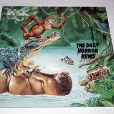 Discos de vinilo: LP RISK - THE DAILY HORROR NEWS. Lote 161699446