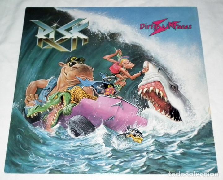 LP RISK - DIRTY SURFACES (Música - Discos - LP Vinilo - Heavy - Metal)