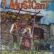 Discos de vinilo: I MUSICANT - BALLANDO COI NONNI (ITALY, 1963. VINYL, 10 PULGADAS, LP). Lote 163417430