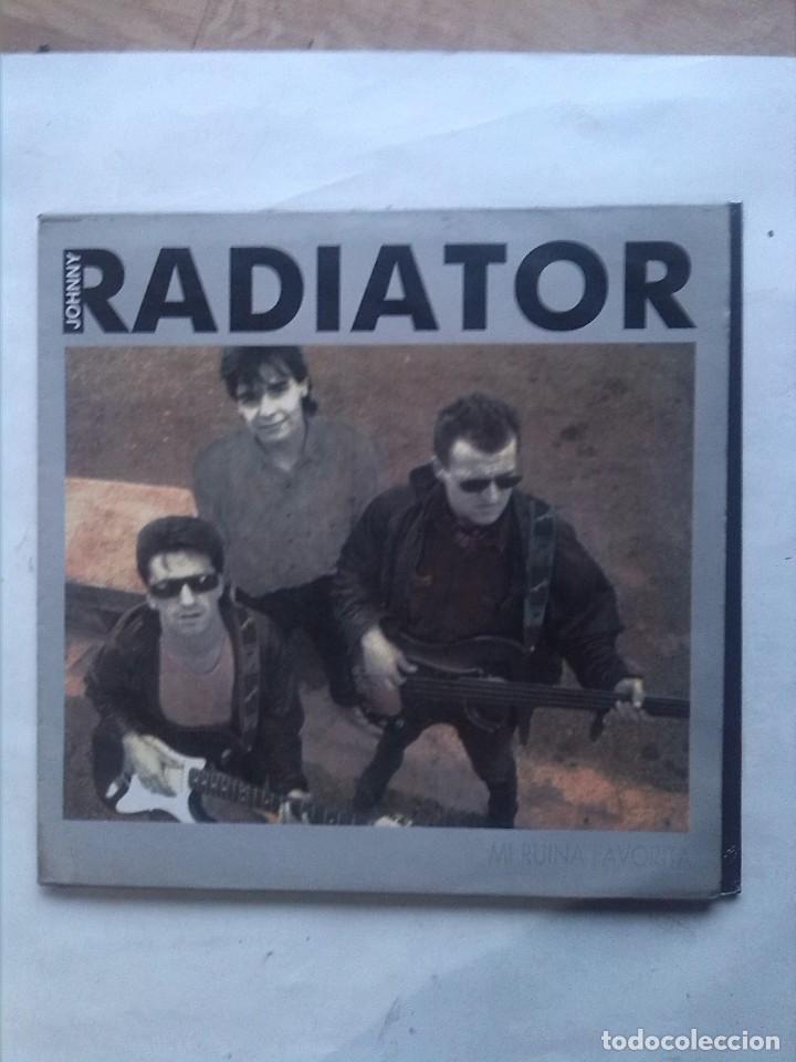 JOHNNY RADIATOR MI RUINA FAVORITA MINI LP FIRMADO (Música - Discos de Vinilo - EPs - Solistas Españoles de los 70 a la actualidad)