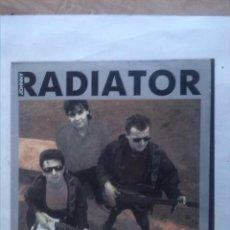 Discos de vinilo: JOHNNY RADIATOR MI RUINA FAVORITA MINI LP FIRMADO. Lote 163426654