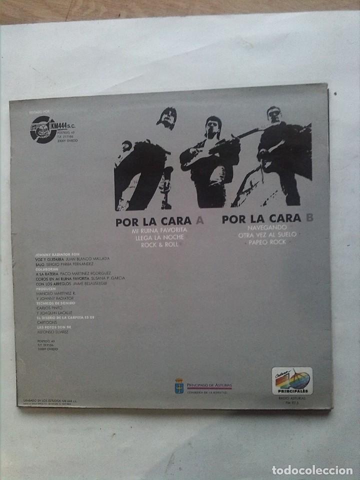 Discos de vinilo: JOHNNY RADIATOR MI RUINA FAVORITA MINI LP FIRMADO - Foto 2 - 163426654