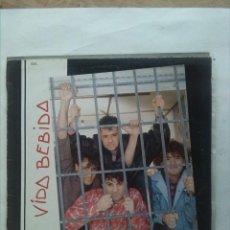 Discos de vinilo: VIDA BEBIDA PARA FASTIDIAR MINI LP. Lote 163426806