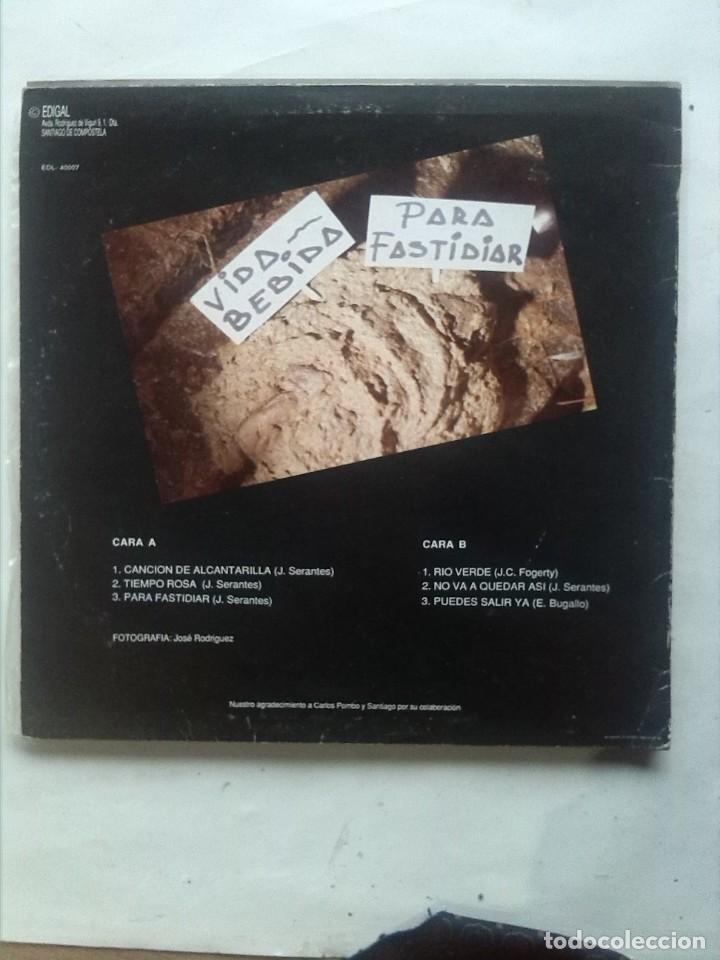 Discos de vinilo: VIDA BEBIDA PARA FASTIDIAR MINI LP - Foto 2 - 163426806