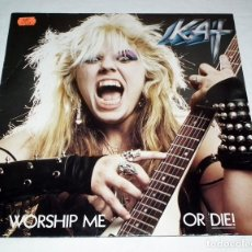 Discos de vinilo: LP THE GREAT KAT - WORSHIP ME OR DIE. Lote 163430758