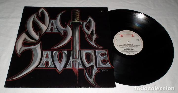Discos de vinilo: LP NASTY SAVAGE - NASTY SAVAGE - Foto 3 - 163430870