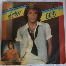 Disques de vinyle: ANDY GIBB - (YOUR LOVE) DON'T THROW IT ALL AWAY. Lote 163438825