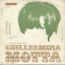 Discos de vinilo: GUILLERMINA MOTTA, CON VINO SOY. (VERGARA,1969) -SINGLE-. Lote 163467890