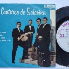 Discos de vinilo: LOS CANTORES DE SALAVINA - EP ARGENTINA PS - DEL TIEMPO I' MAMA / CARNAVAL ALEGRE + 2. Lote 163479270
