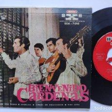 Discos de vinilo: BIENVENIDO CARDENAS - EP ARGENTINA PS - EX* RARO LABEL Y TRICENTER * ANGELICA / LAS DOS ROSAS + 2 -. Lote 163479402