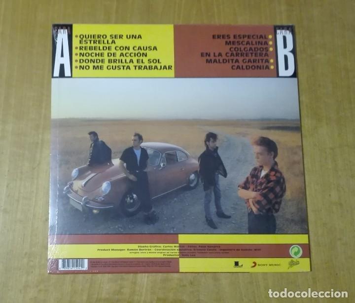Discos de vinilo: LOS REBELDES - Rebeldes con causa (LP 2017, We Are Vinyl 889854159412) PRECINTADO - Foto 2 - 163412026