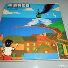Discos de vinilo: LP 1977 - MARCOS DE LOS APENINOS A LOS ALPES. Lote 163480582