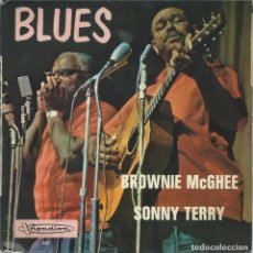 Discos de vinilo: BROWNIE MCGHEE SONNY TERRY, BLUES (VISADISC) -FRANCES-. Lote 163481674