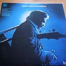 Vinyl records - JOHNNY CASH AT SAN QUENTIN LP - 163482034