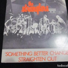 Discos de vinilo: THE STRANGLERS - SOMETHING BETTER CHANGE - SG - EDICION INGLESA DEL AÑO 1977. Lote 163484298