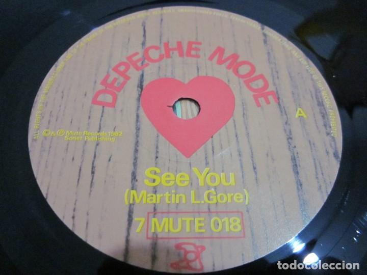 Discos de vinilo: DEPECHE MODE - SEE YOU - SG - EDICION INGLESA DEL AÑO 1982 - Foto 3 - 163486126