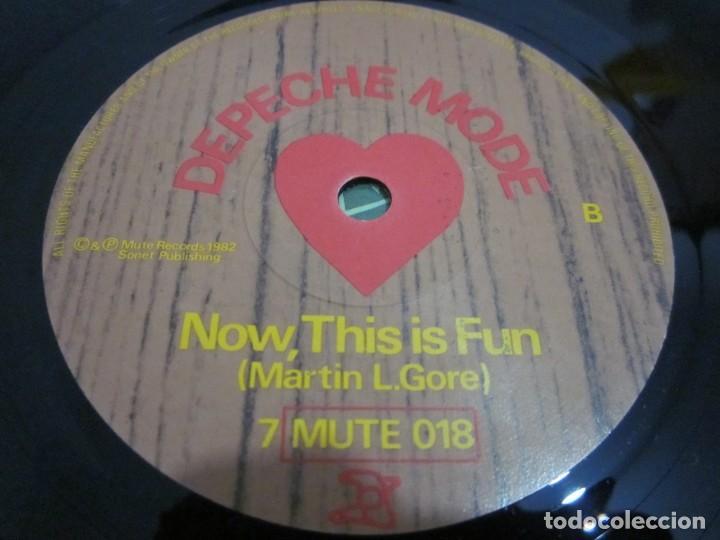 Discos de vinilo: DEPECHE MODE - SEE YOU - SG - EDICION INGLESA DEL AÑO 1982 - Foto 4 - 163486126