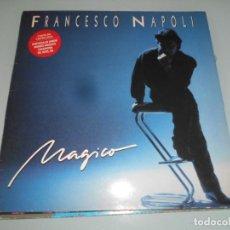 Discos de vinilo: LP 1983 - FRANCESCO NAPOLI - MÁGICO -(CANTA EN CASTELLANO 4 TEMAS). Lote 163486282