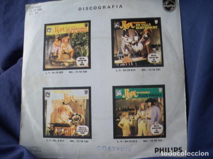 Discos de vinilo: PIPPI CALZASLARGAS EN ESPAÑOL VOZ Y MUSICA DE LA SERIE TV - Foto 2 - 163495510