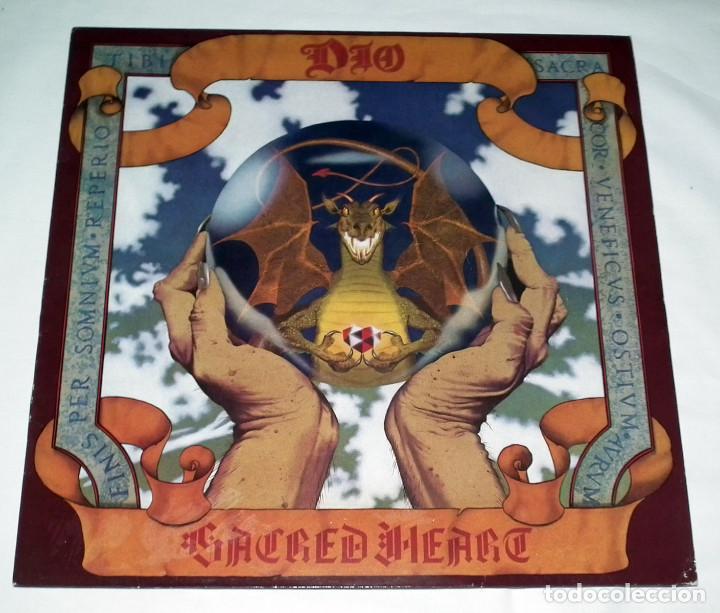 LP DIO - SACRED HEART (Música - Discos - LP Vinilo - Heavy - Metal)