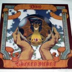 Discos de vinilo: LP DIO - SACRED HEART. Lote 163497038