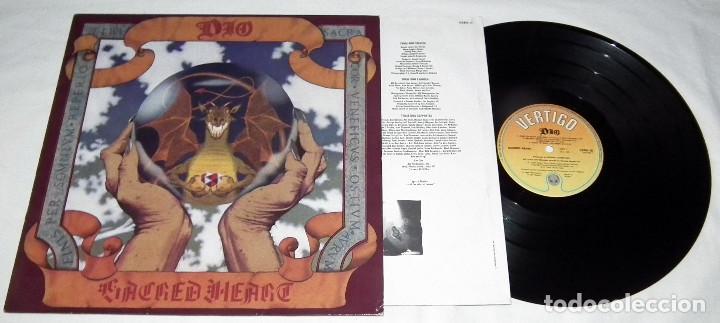 Discos de vinilo: LP DIO - SACRED HEART - Foto 3 - 163497038